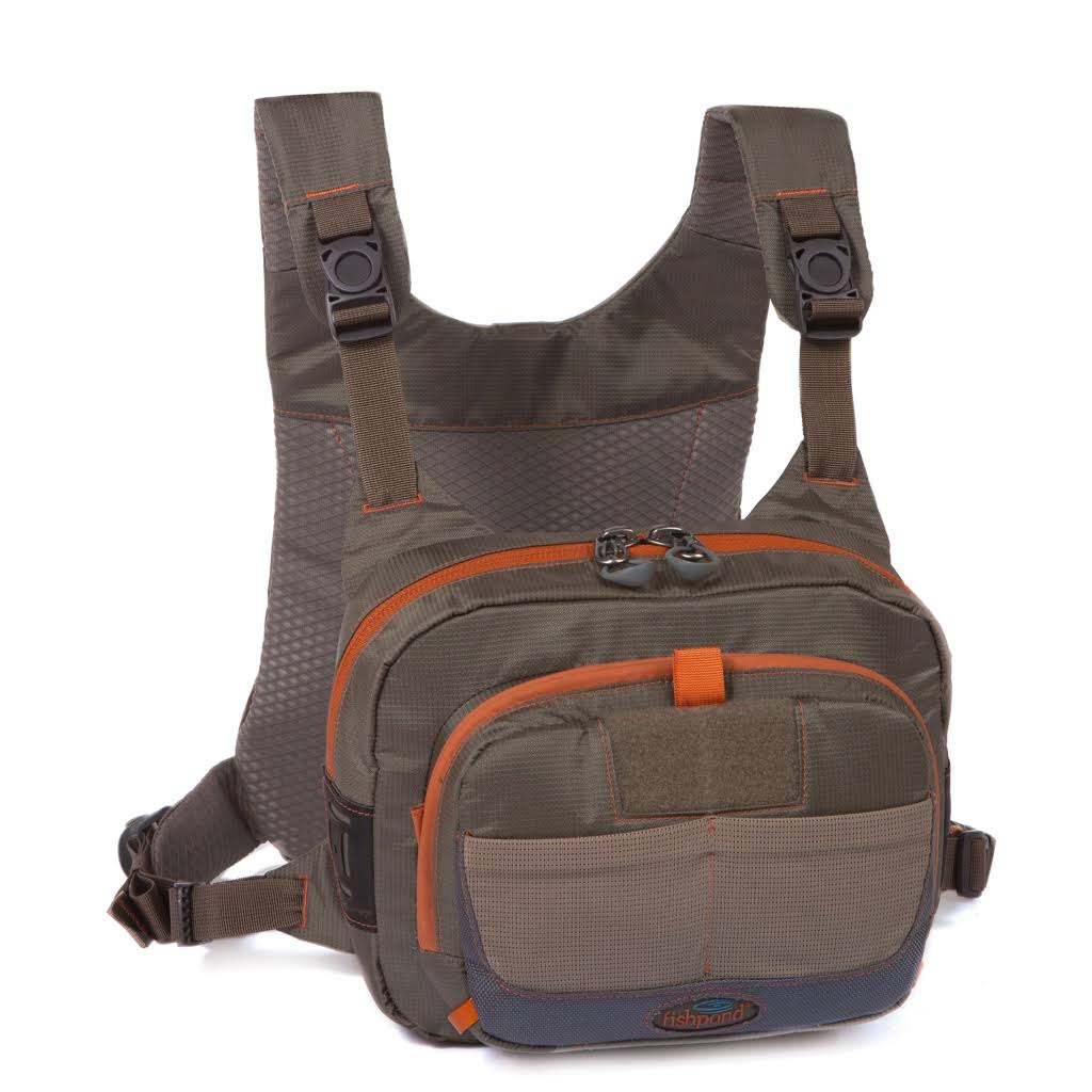 Fishpond Fly Fishing Cross Current Chest Pack - Gray