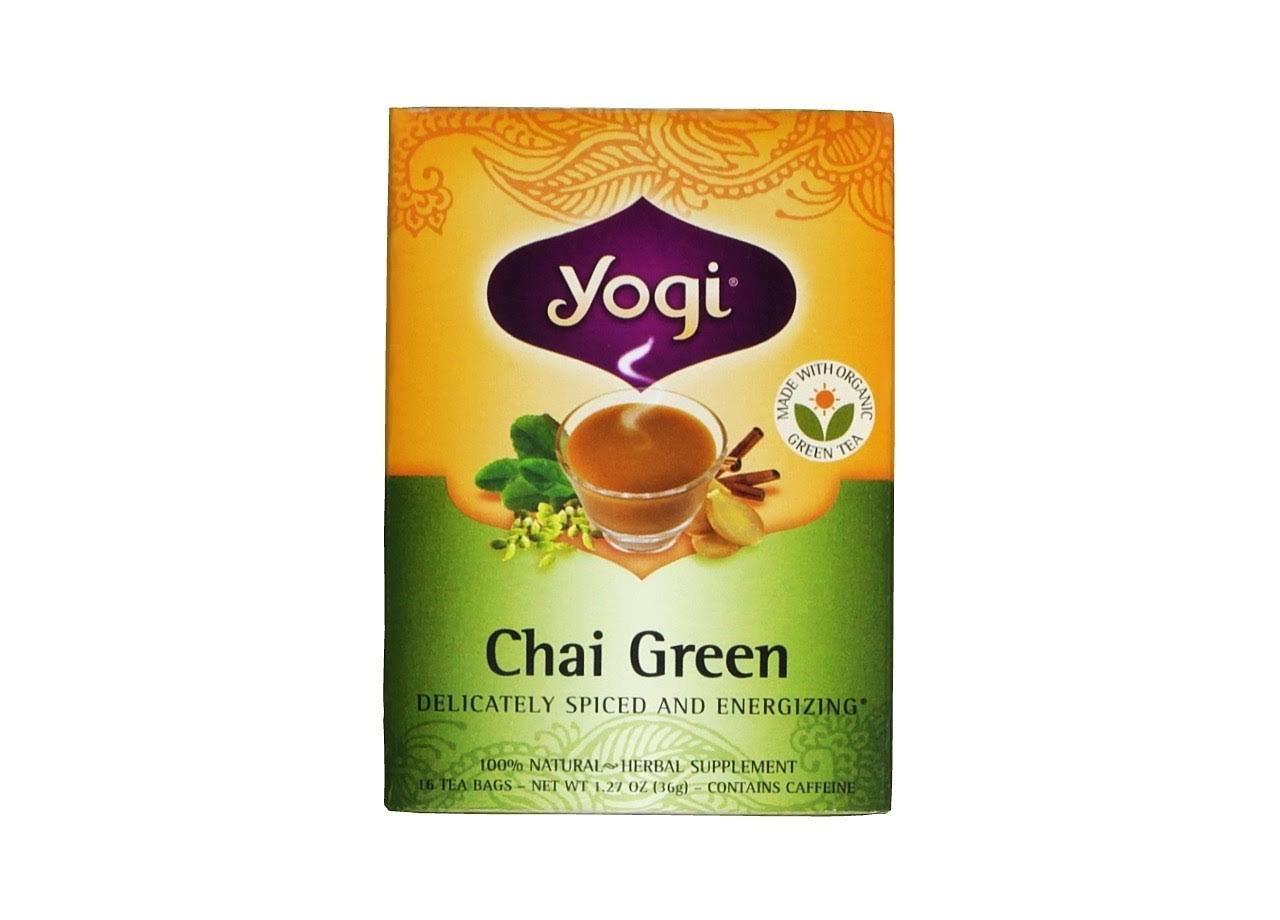 Yogi Tea Chai Green - 16 Tea Bags