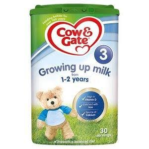 Cow & Gate 3 Growing Up Milk Formula - 800g, 1-2 Years