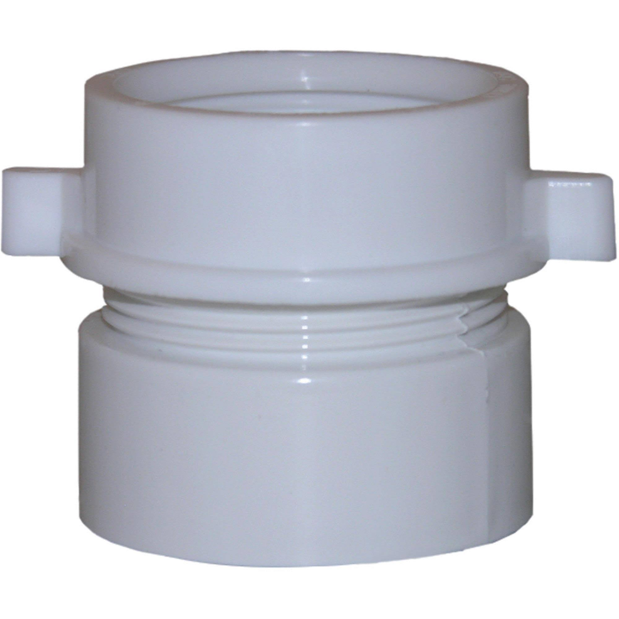 Larsen Supply Pvc Drain Adapter - 1-1/2""