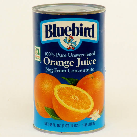 Bluebird Unsweetened Orange Juice - 46oz
