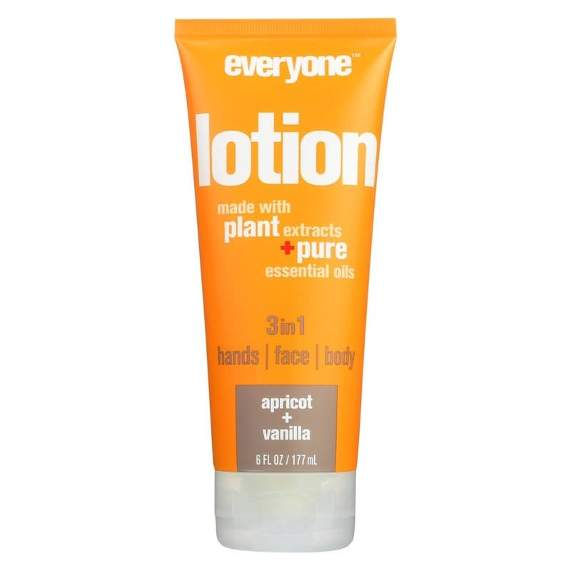 Everyone Lotion, Apricot + Vanilla - 6 fl oz