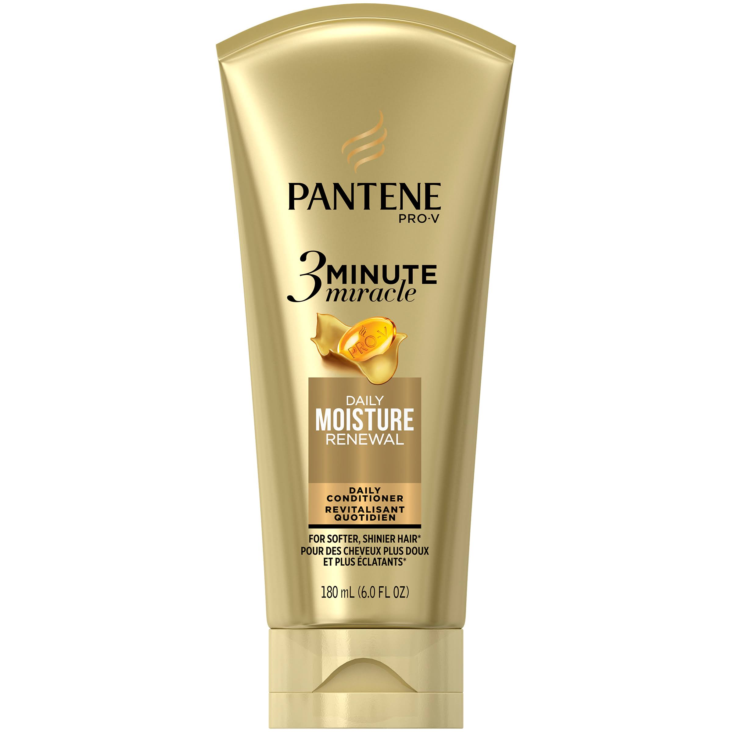Pantene Pro V 3 Minute Miracle Moisture Renewal Deep Conditioner - 6oz