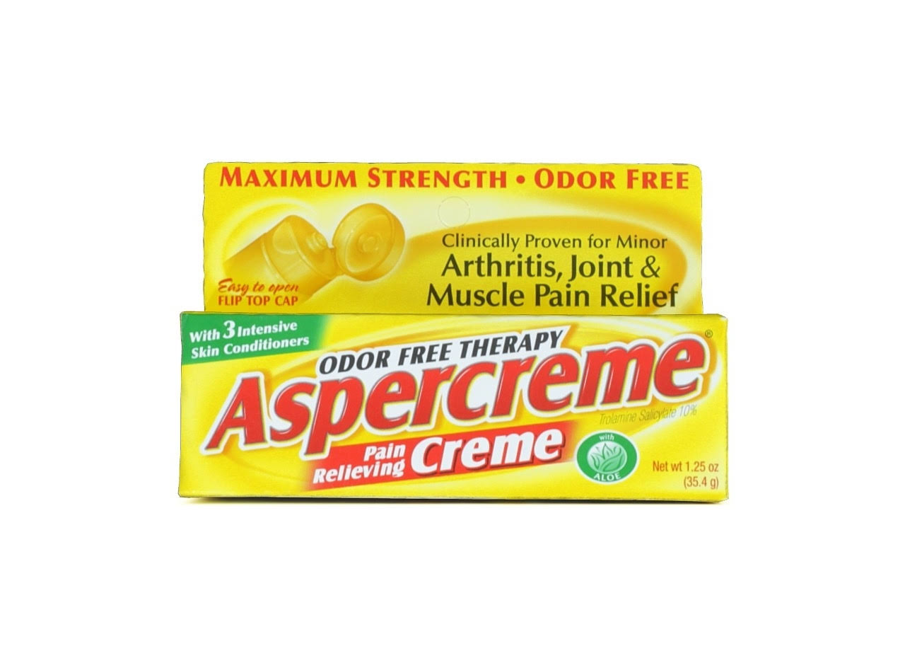 Aspercreme Odor Free Therapy Pain Relieving Creme - 1.25oz