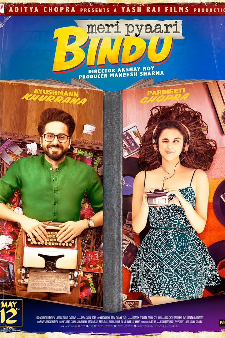 Meri Pyaari Bindu Hindi Full Movie Download HD DVDRip 700MB