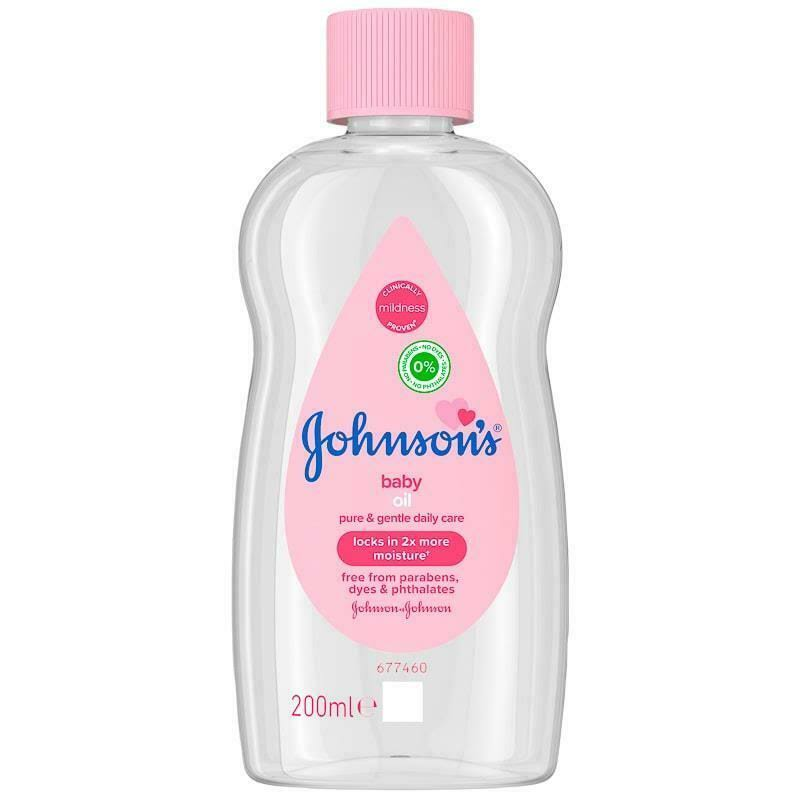 Johnson's Baby Oil - 200ml