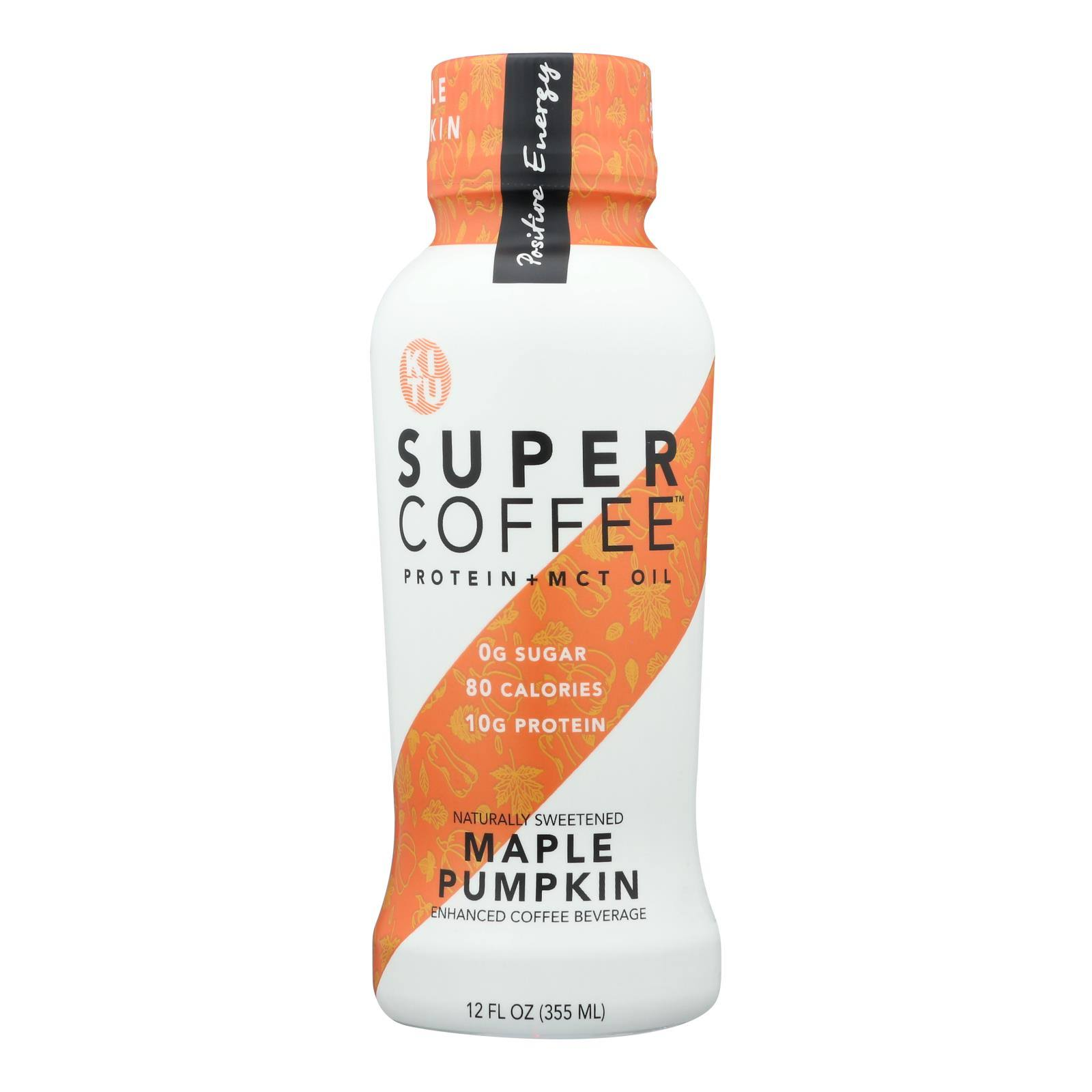 Kitu Super Coffee Maple Pumpkin Enhanced Coffee Beverage - 355ml