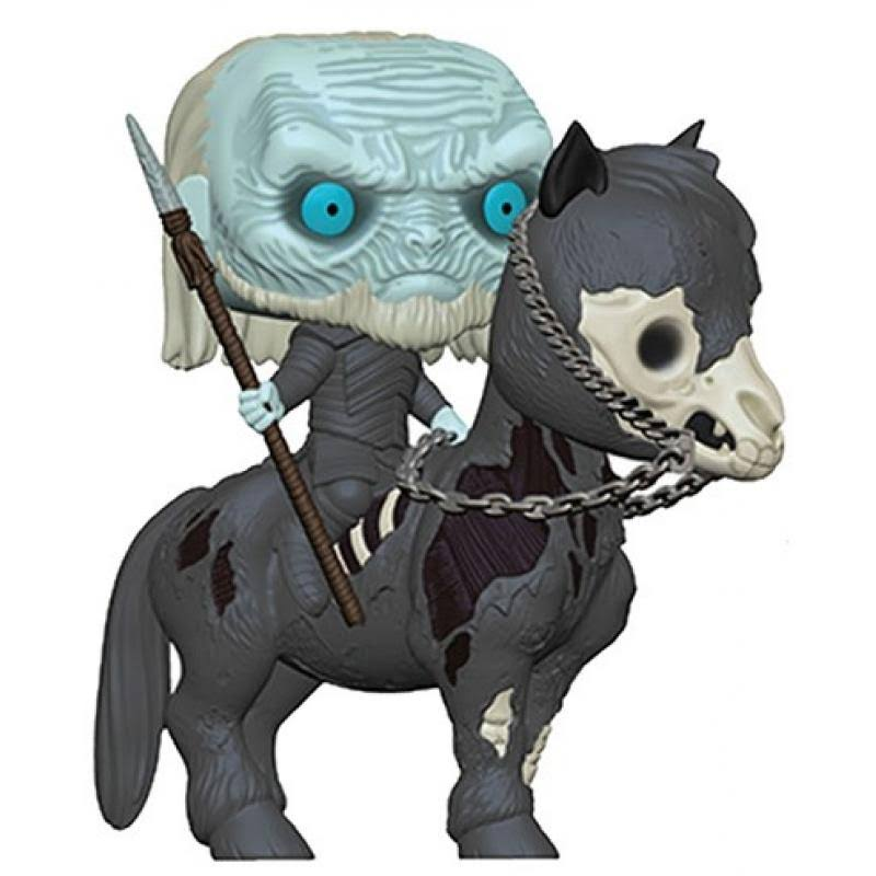 Funko Pop Rides: Game of Thrones Vinyl Figure - White Walker on Horse