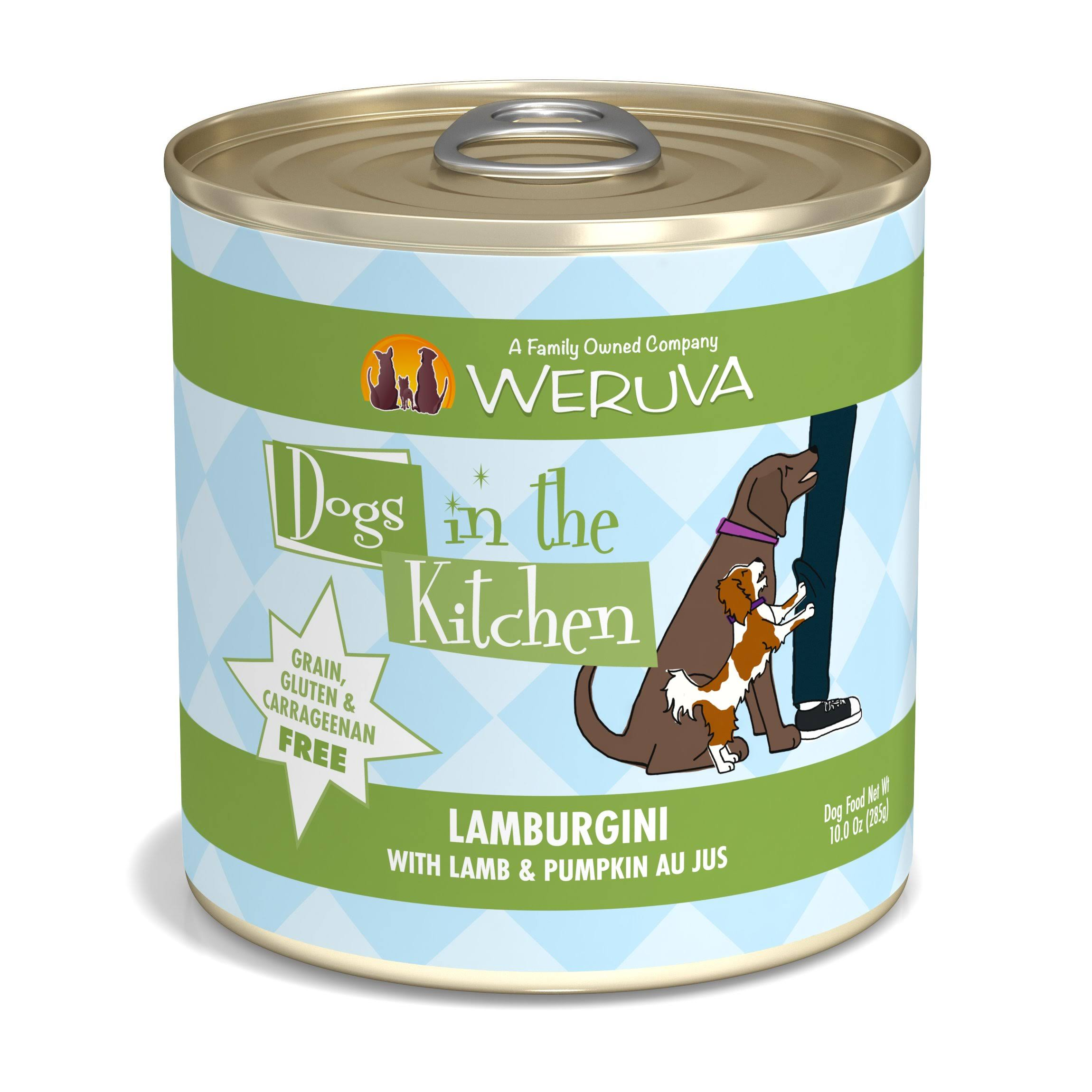 Weruva Dogs in The Kitchen Lamburgini Wet Dog Food 10 oz
