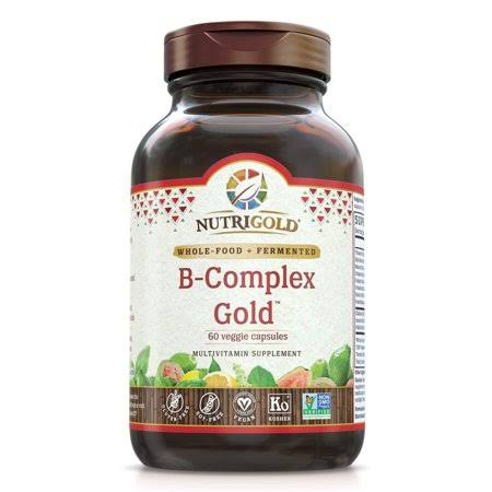 Nutrigold Vitamin B-Complex Dietary Supplement - 120 Capsules