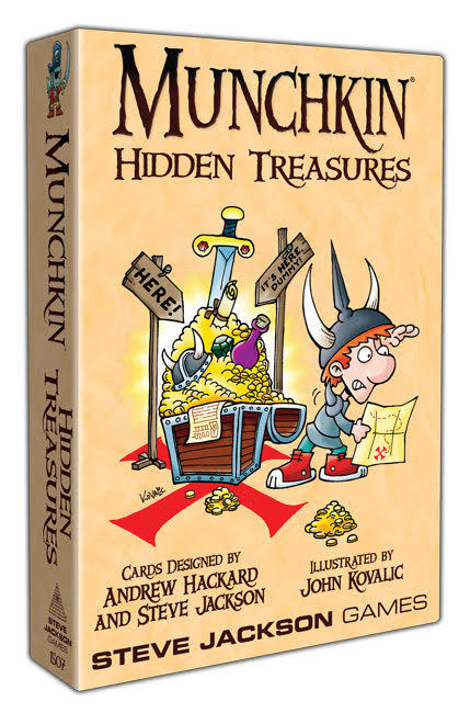Munchkin Hidden Treasures Games