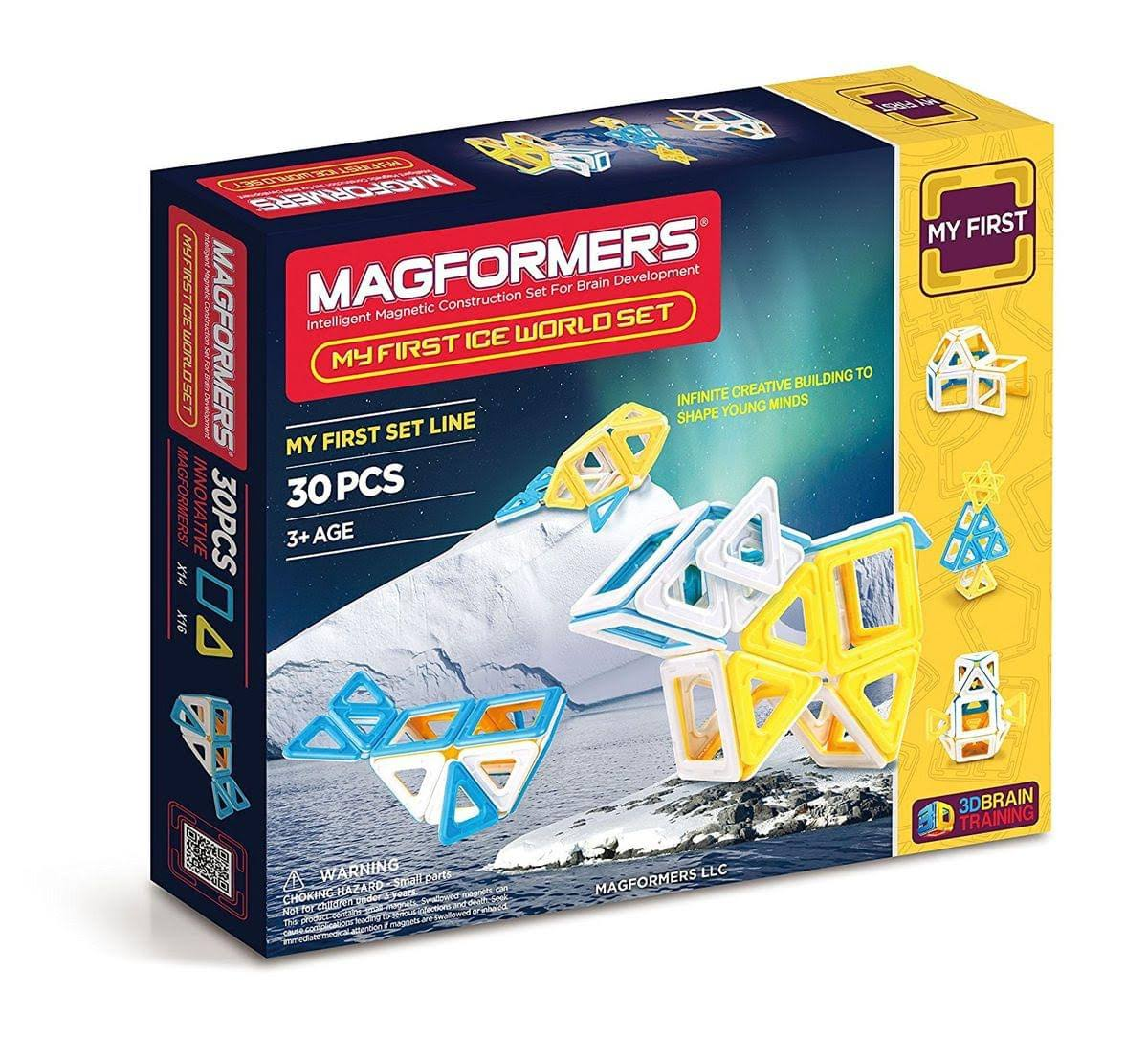 Magformers Ice World Magnetic Construction Set - 30pcs