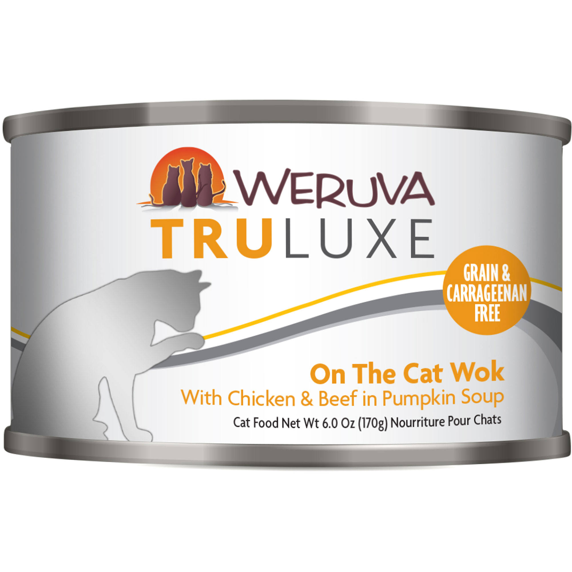 Weruva Grain Free Truluxe Canned Cat Food - On the Cat Wok, Adult