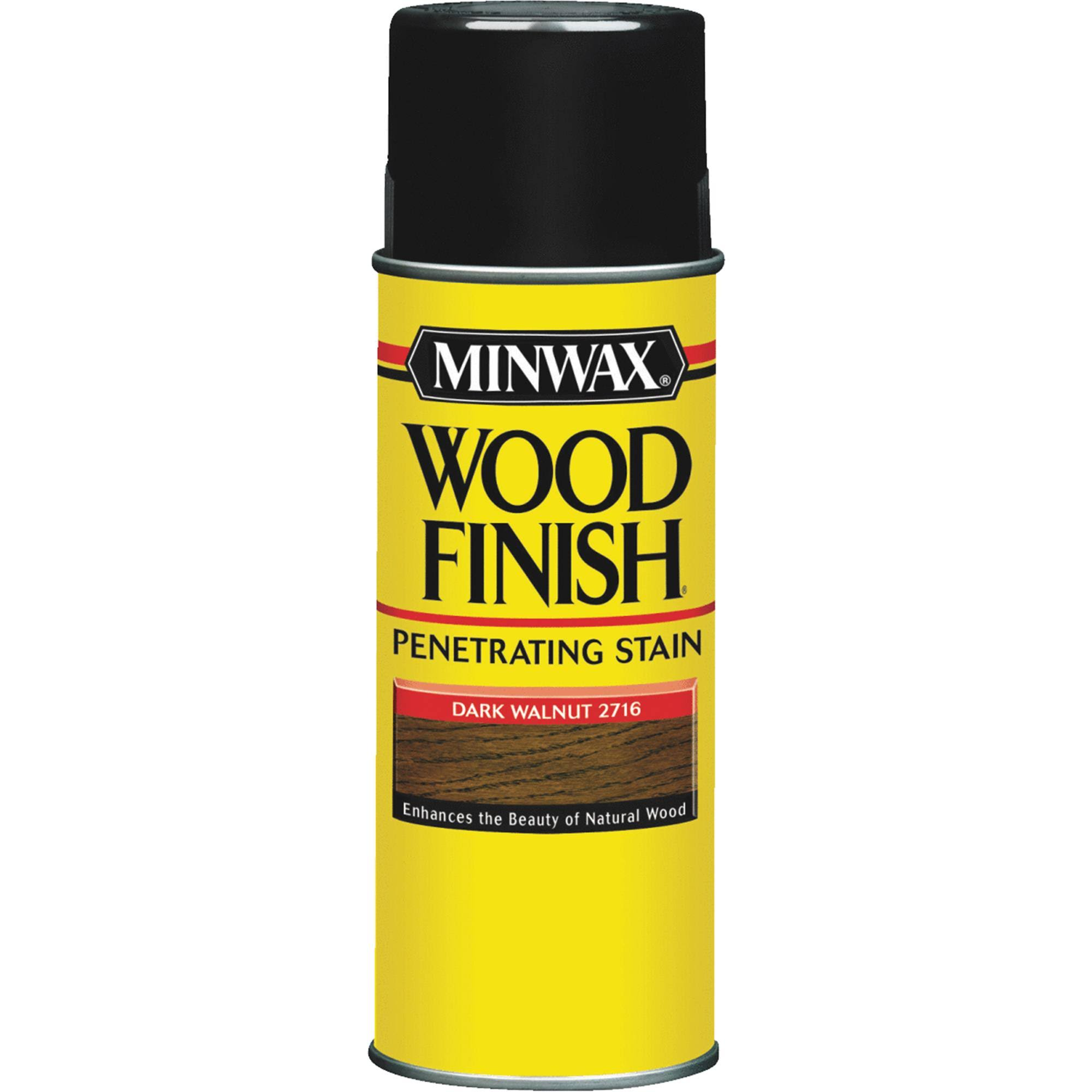 Minwax Wood Finish Spray Stain - Dark Walnut, 11.5oz