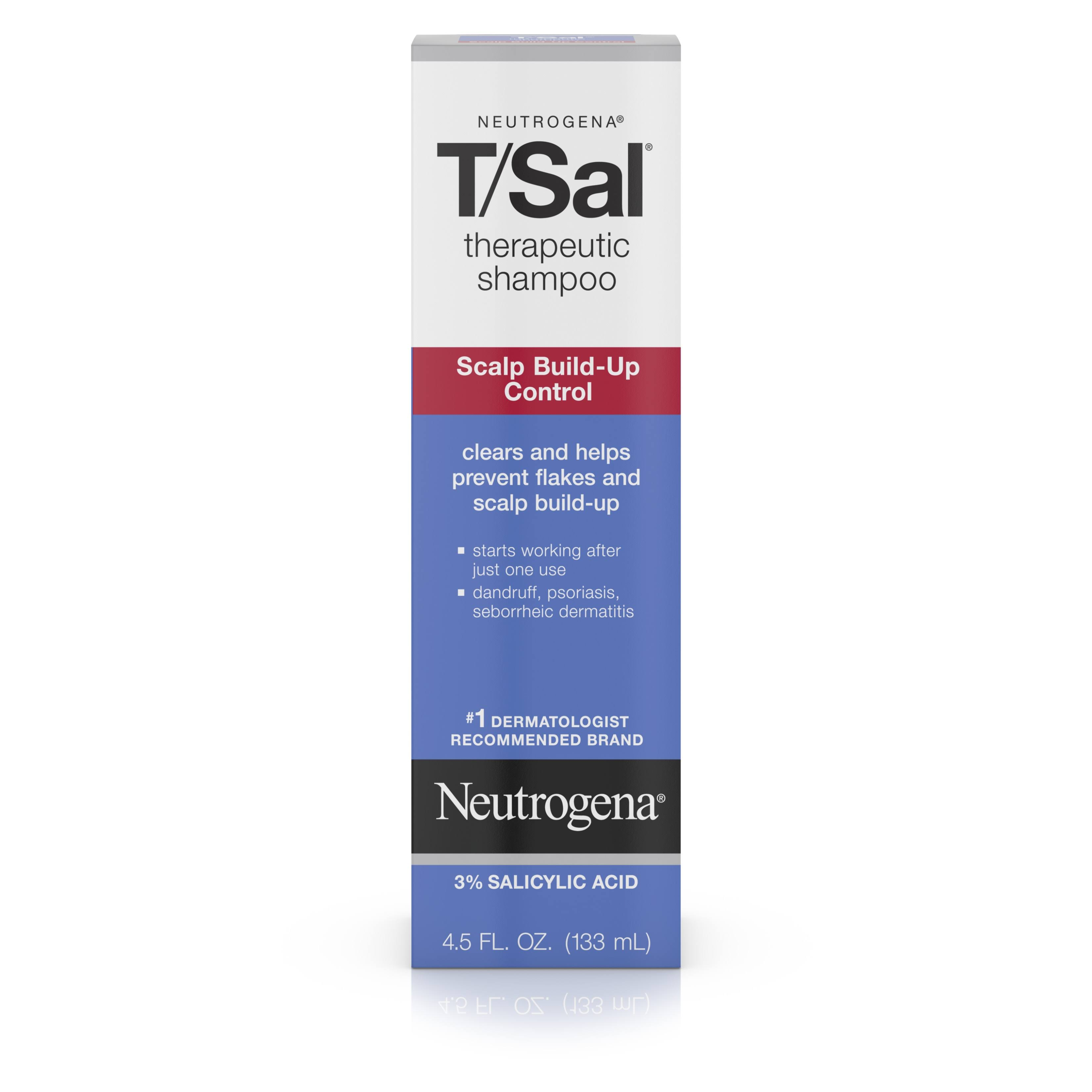 Neutrogena T/Sal Therapeutic Shampoo Scalp Build-Up Control - 133ml