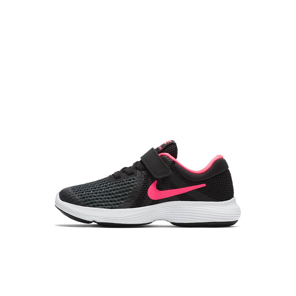 Nike Revolution 4 Childrens - Black/Pink