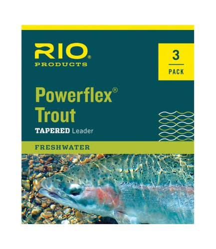 Rio Powerflex Trout Leaders - 9', 3pk