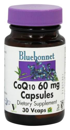 Bluebonnet CoQ10 Dietary Supplement - 60mg, 30ct