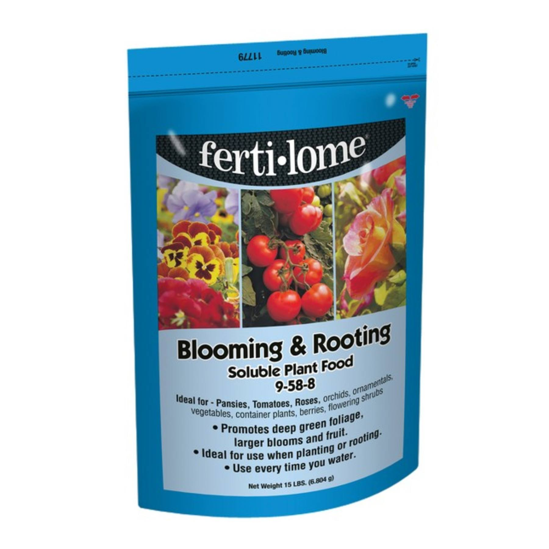 Fertilome 11779 15 lb Blooming and Rooting Soluble Plant Food