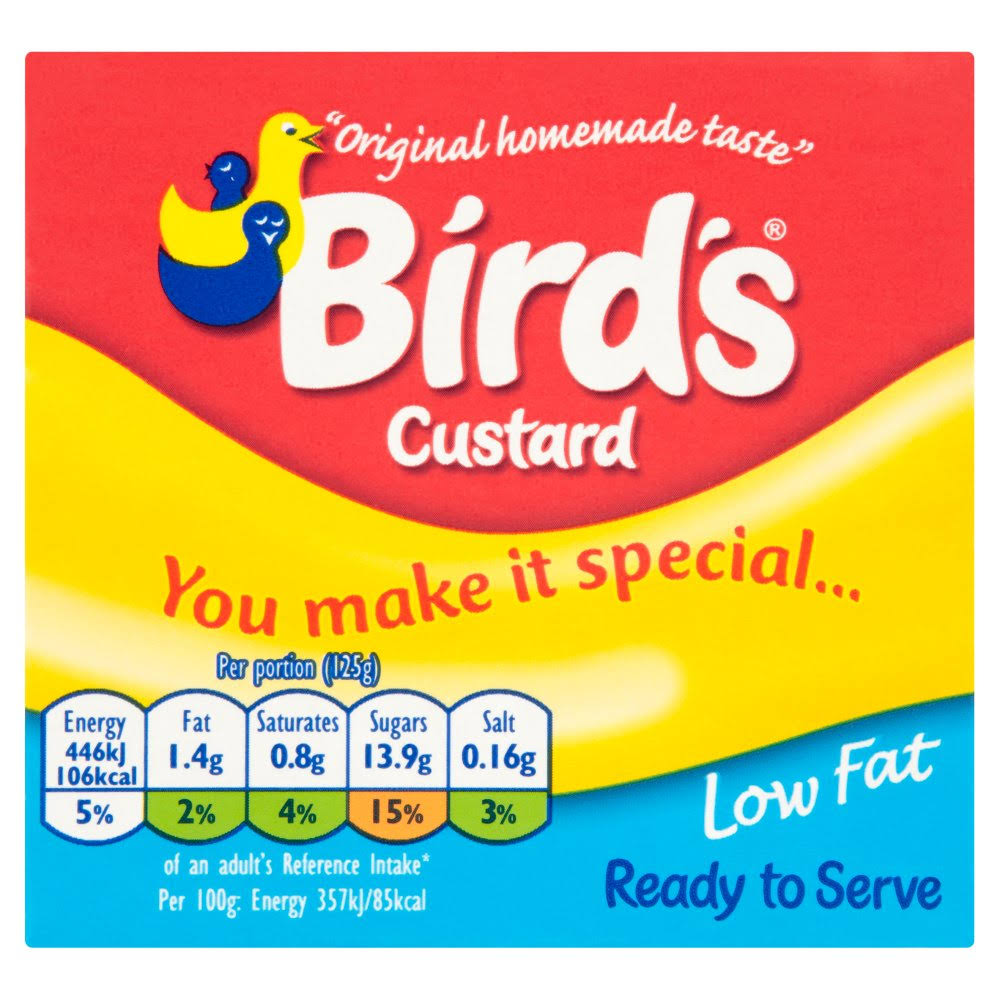 Bird's Low Fat Custard - 500g