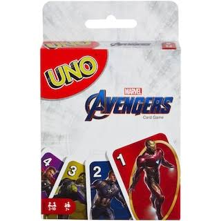Marvel Avengers Endgame Uno Card Game