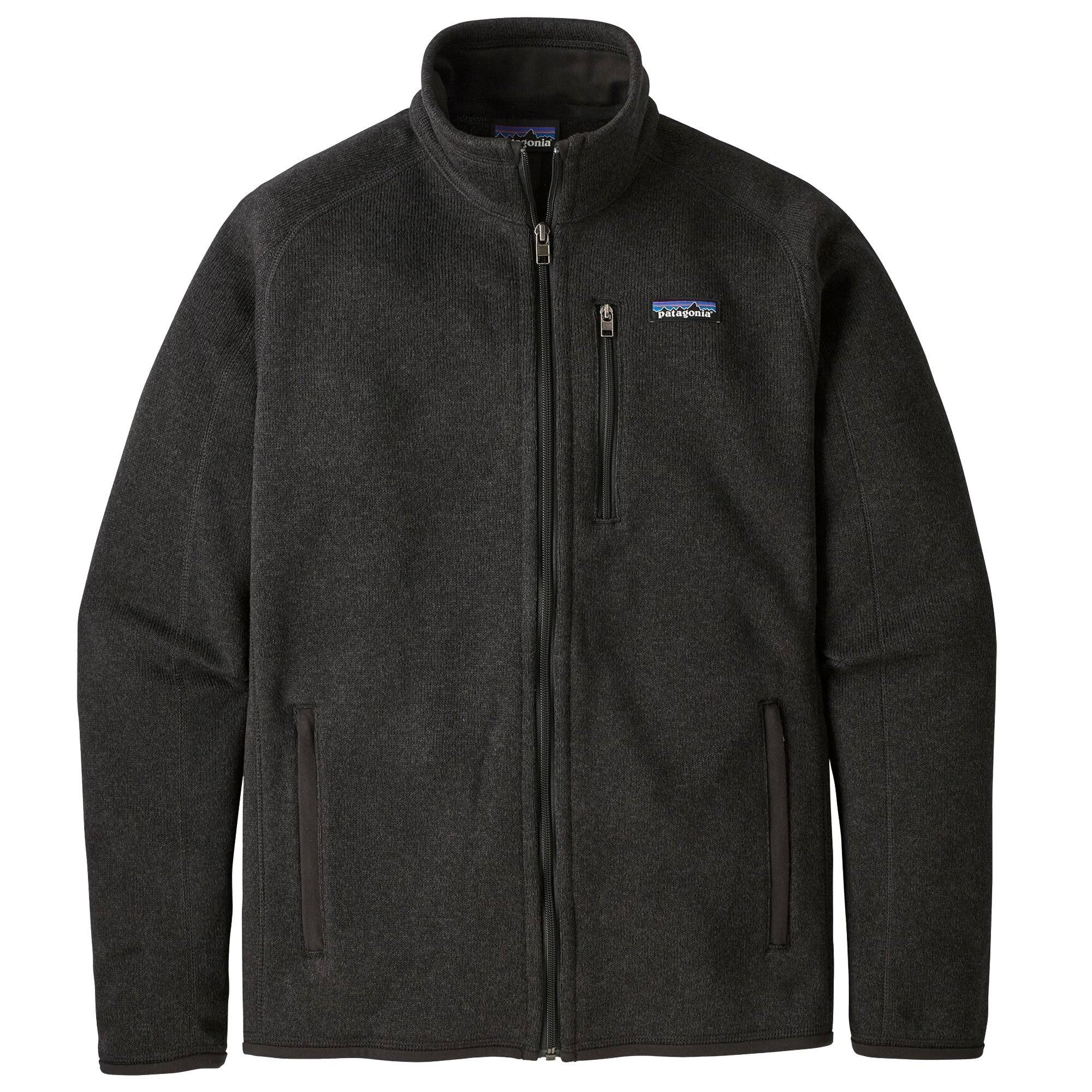 Patagonia Mens Better Sweater - Black, X-Large
