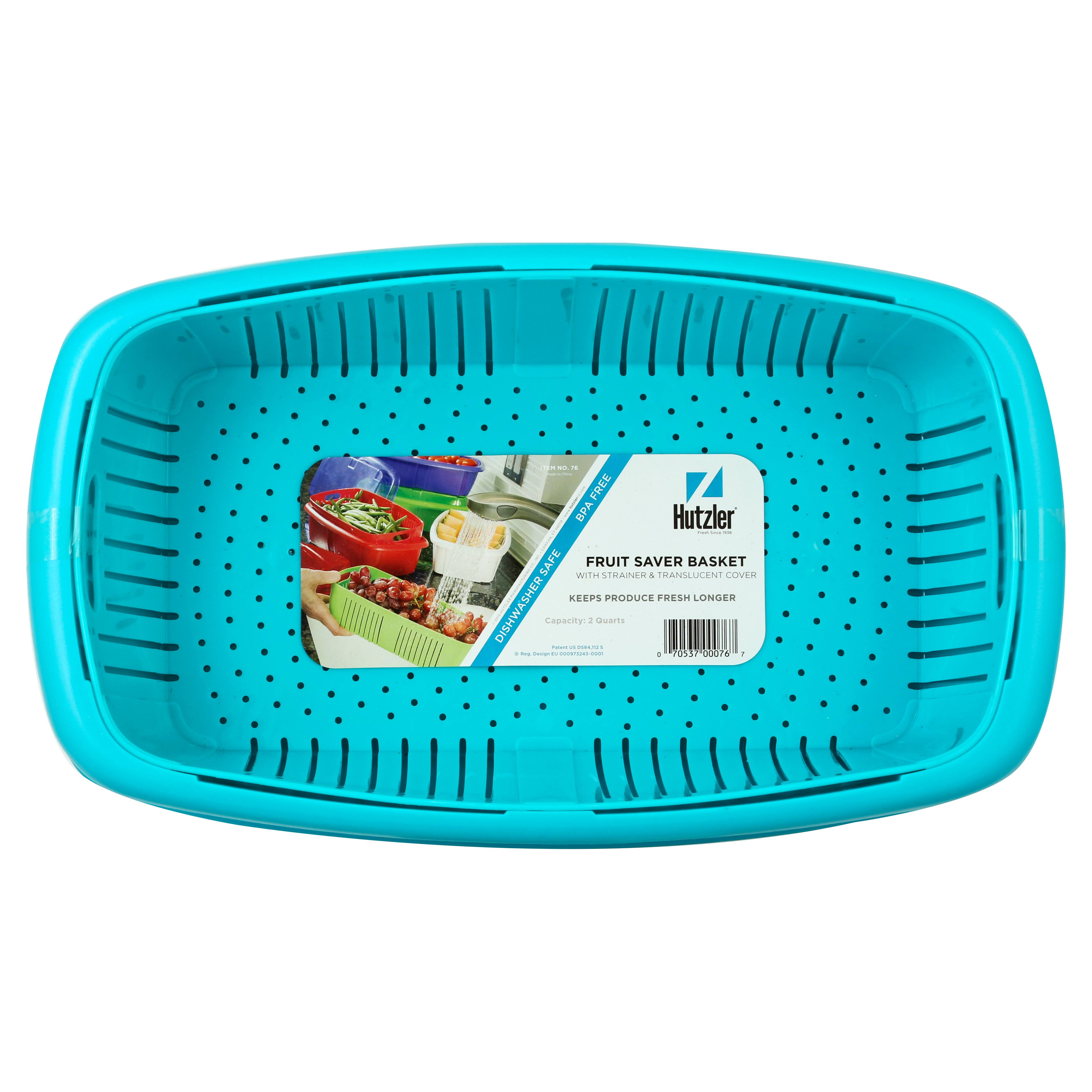 Gourmac Hutzler 3-In-1 Fruit Saver Basket