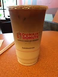 Dunkin Donuts Pumpkin Donut Ingredients by Dunkin Donuts Iced Pumpkin Macchiato Review Fast Food Geek