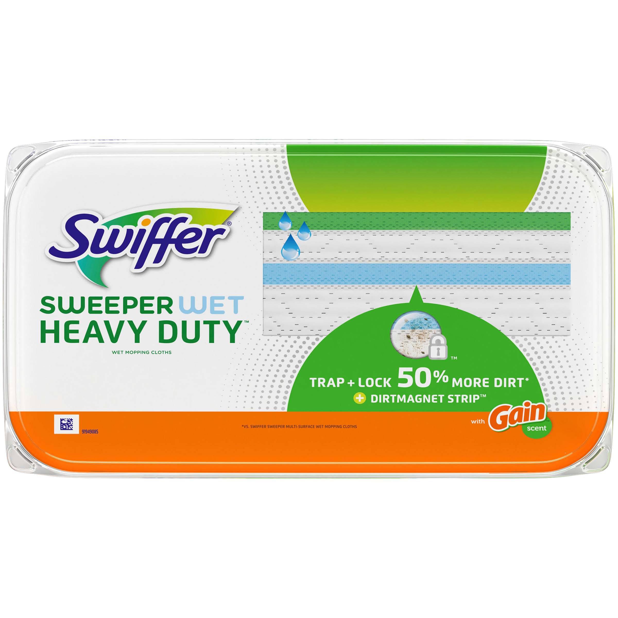 Swiffer Sweeper Wet Heavy Duty Mopping Cloths - 10ct