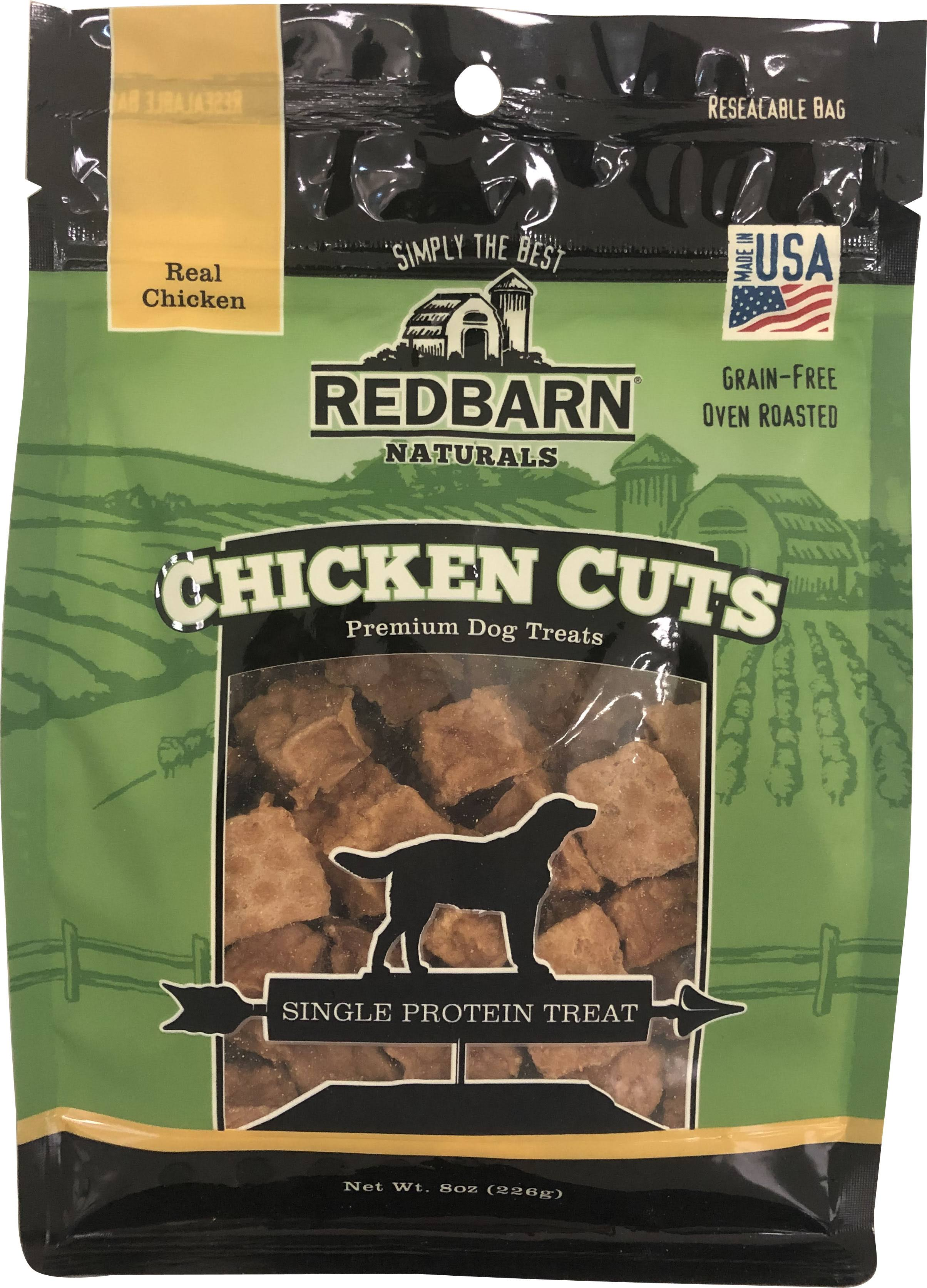 Redbarn Naturals Dog Treats, Premium, Chicken Cuts - 8 oz