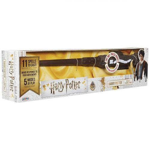 Warner Brothers Harry Potter Wizard Training Wand Toy - Featuring Lights and Sound Effects