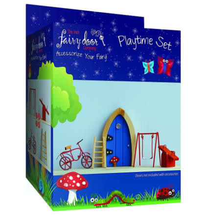 The Irish Fairy Door Company Fairy Playtime Set