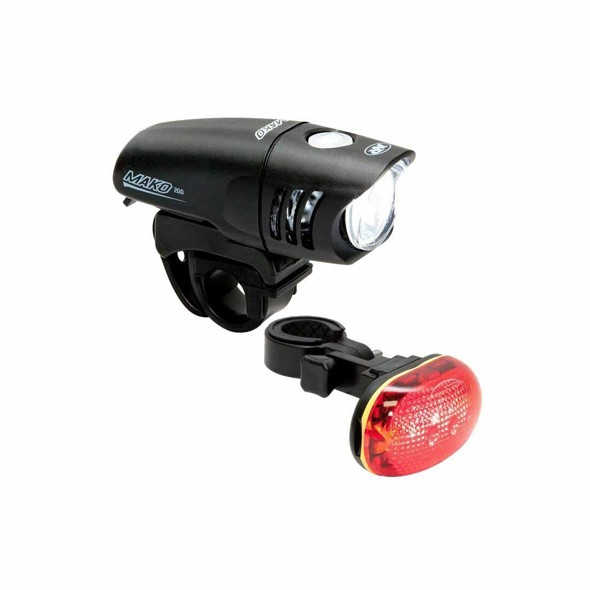 NiteRider Mako 200 and TL 5.0 SL Combo Bicycle Light Set