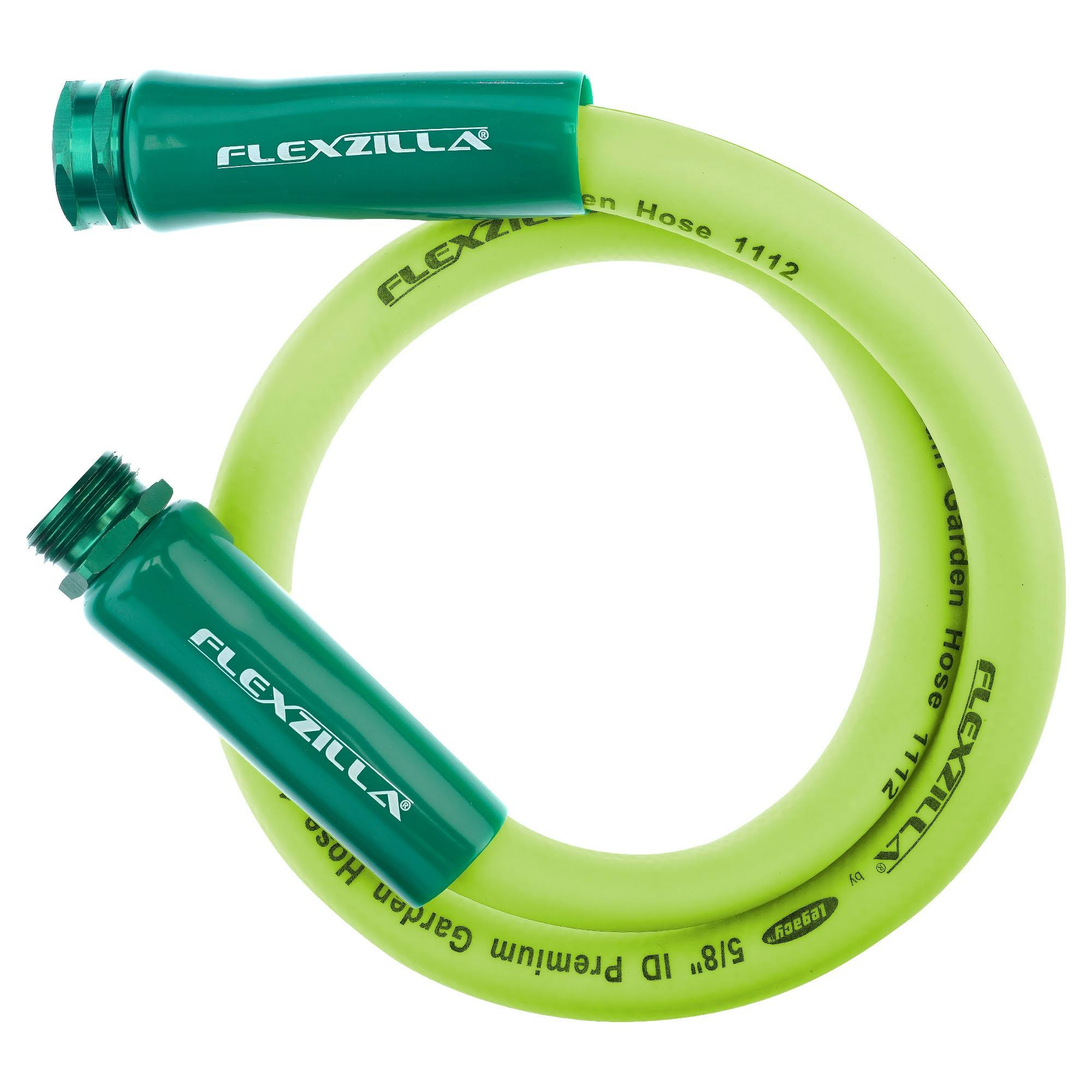 "Flexzilla HFZG503YW Flexzilla Water Whip Hose - with 3/4"" GHT Ends, 5/8"" x 3'"