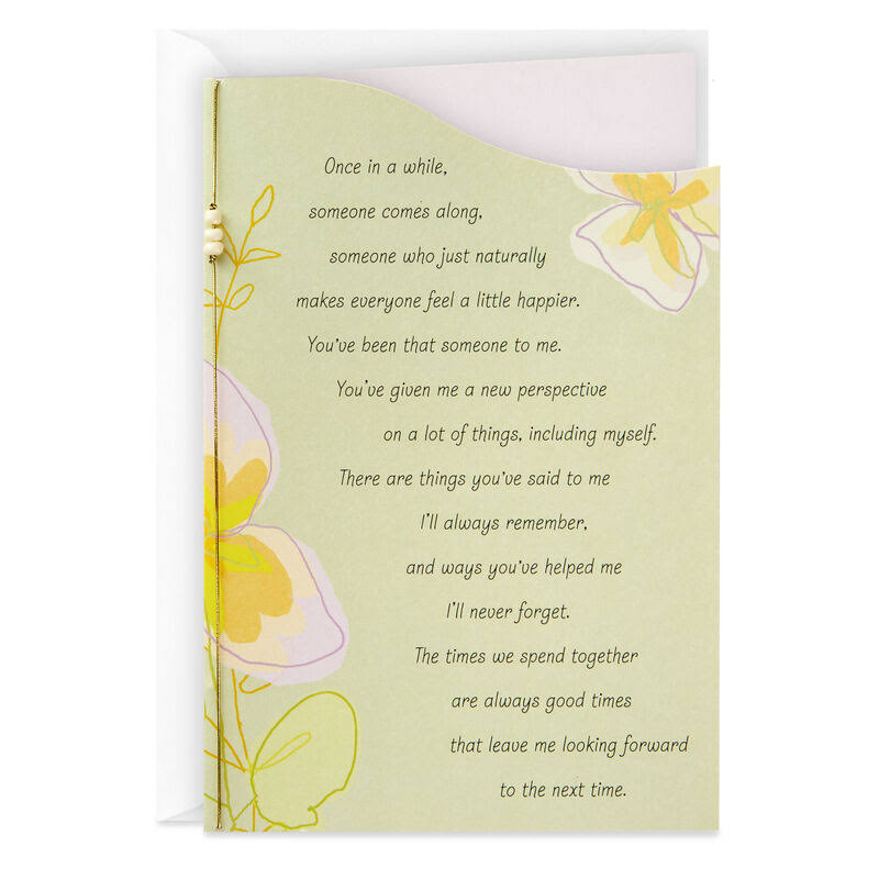 You're A Wonderful Friend Thinking of You Card