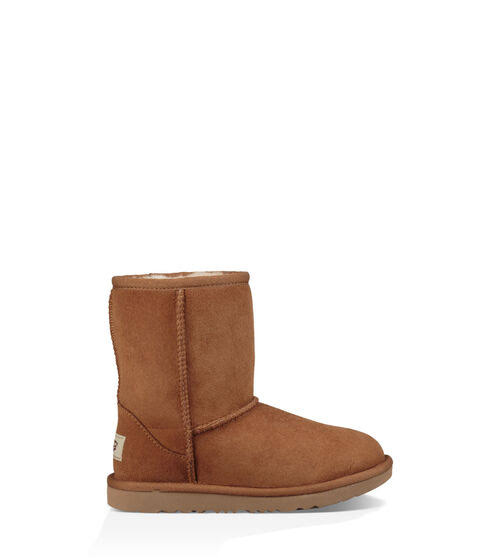 UGG Classic II Girls' Toddler-Youth Boot - Brown, 4 Youth Medium
