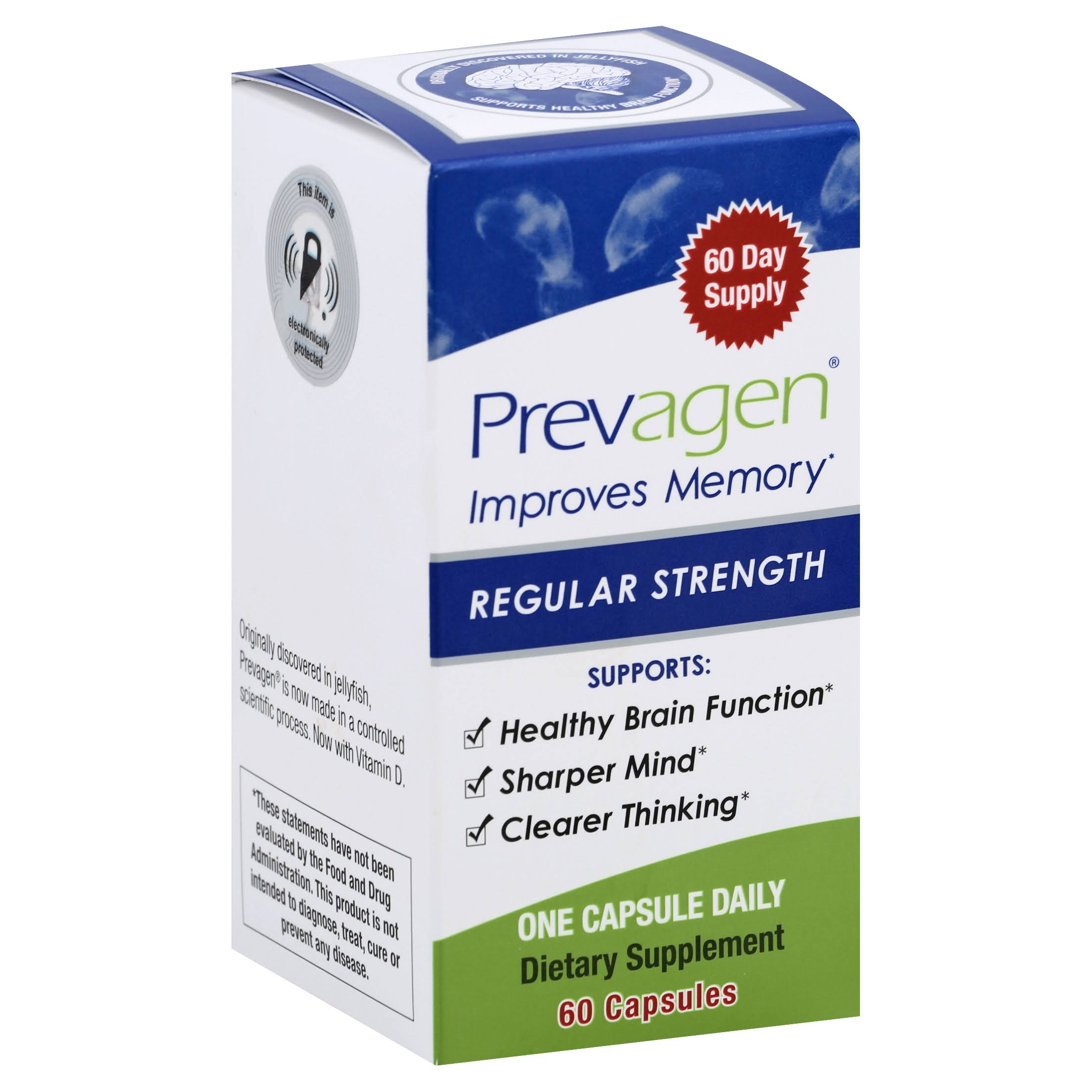 Prevagen Apoaequorin Supplement - 10mg, 60 Capsules