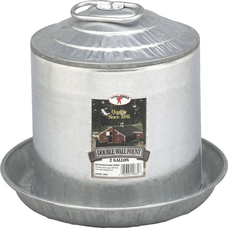 Little Double Wall Fount - 2gal