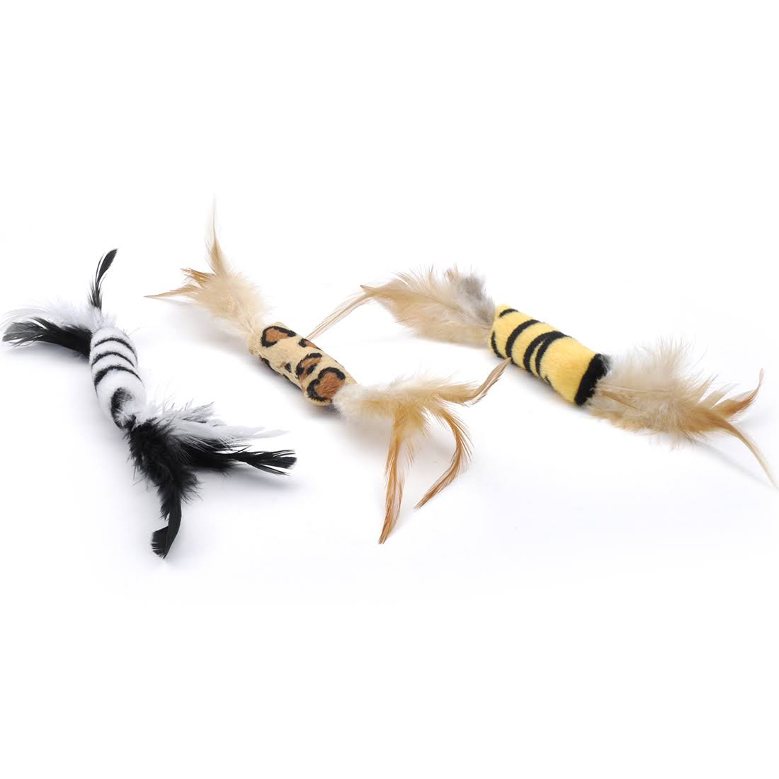 Coastal Pet Turbo Feather Cat Toy, Assorted