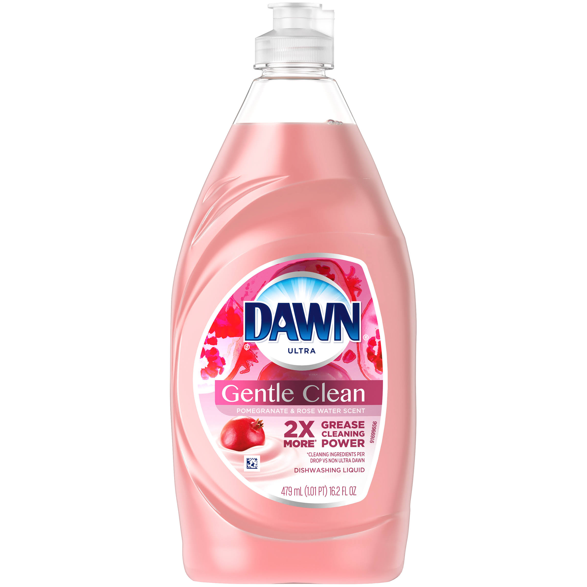 Dawn Ultra Dishwashing Liquid, Pomegranate Splash Scent - 479 ml