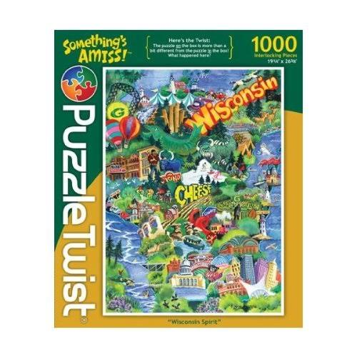 Something's Amiss! Wisconsin Spirit 1000 Piece Puzzle