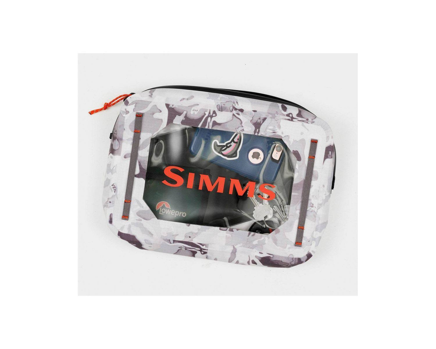 Simms Dry Creek Gear Pouch - 4L, Cloud Camo Grey