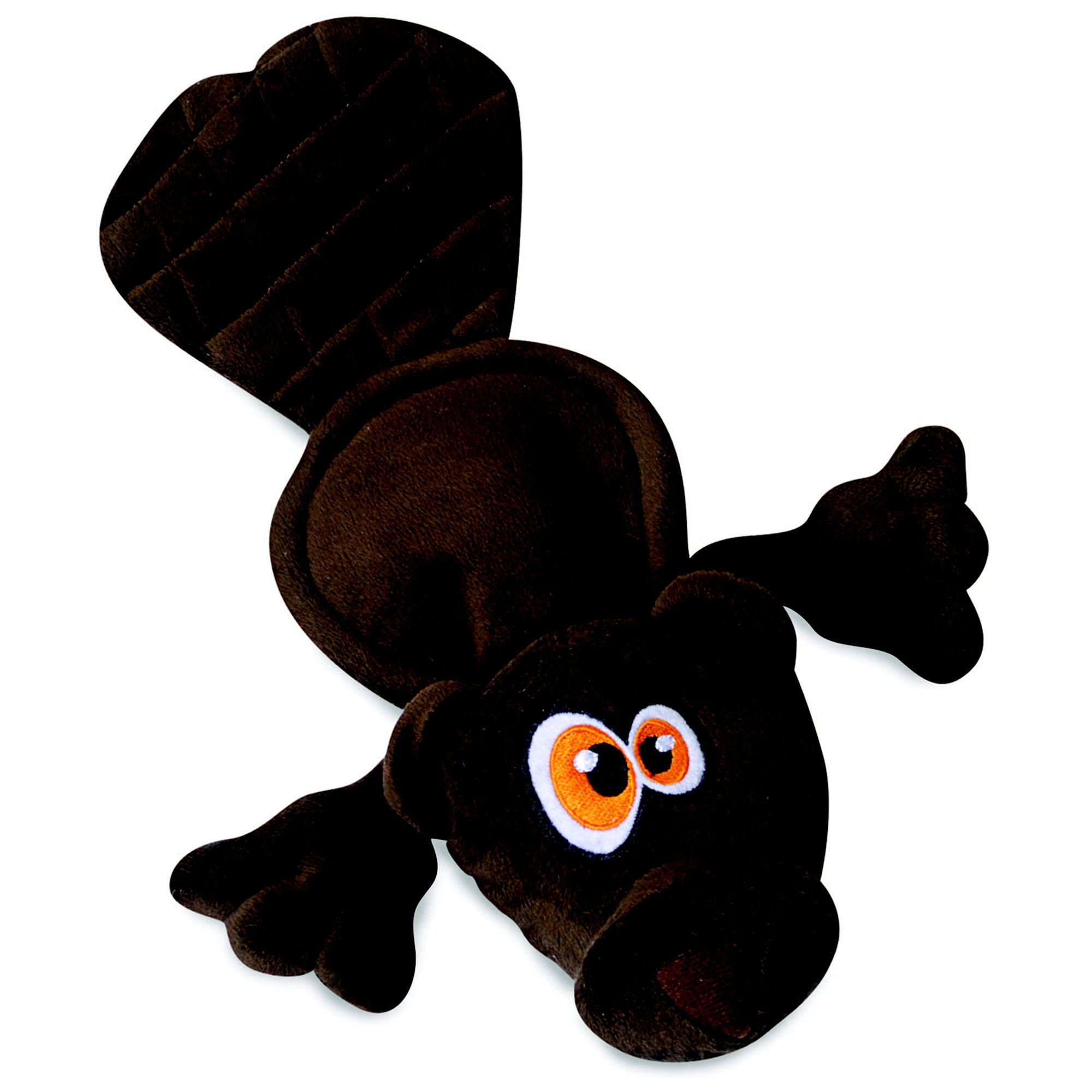 Hear Doggy Ultrasonic Flattie Dog Toys - Beaver