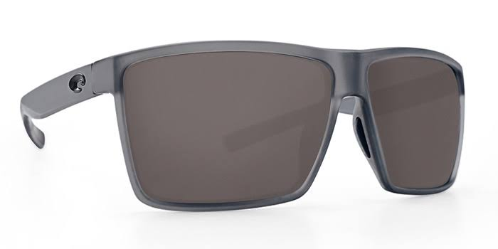 Costa Del Mar Rincon Sunglasses - Matte Smoke Crystal, Gray Lenses
