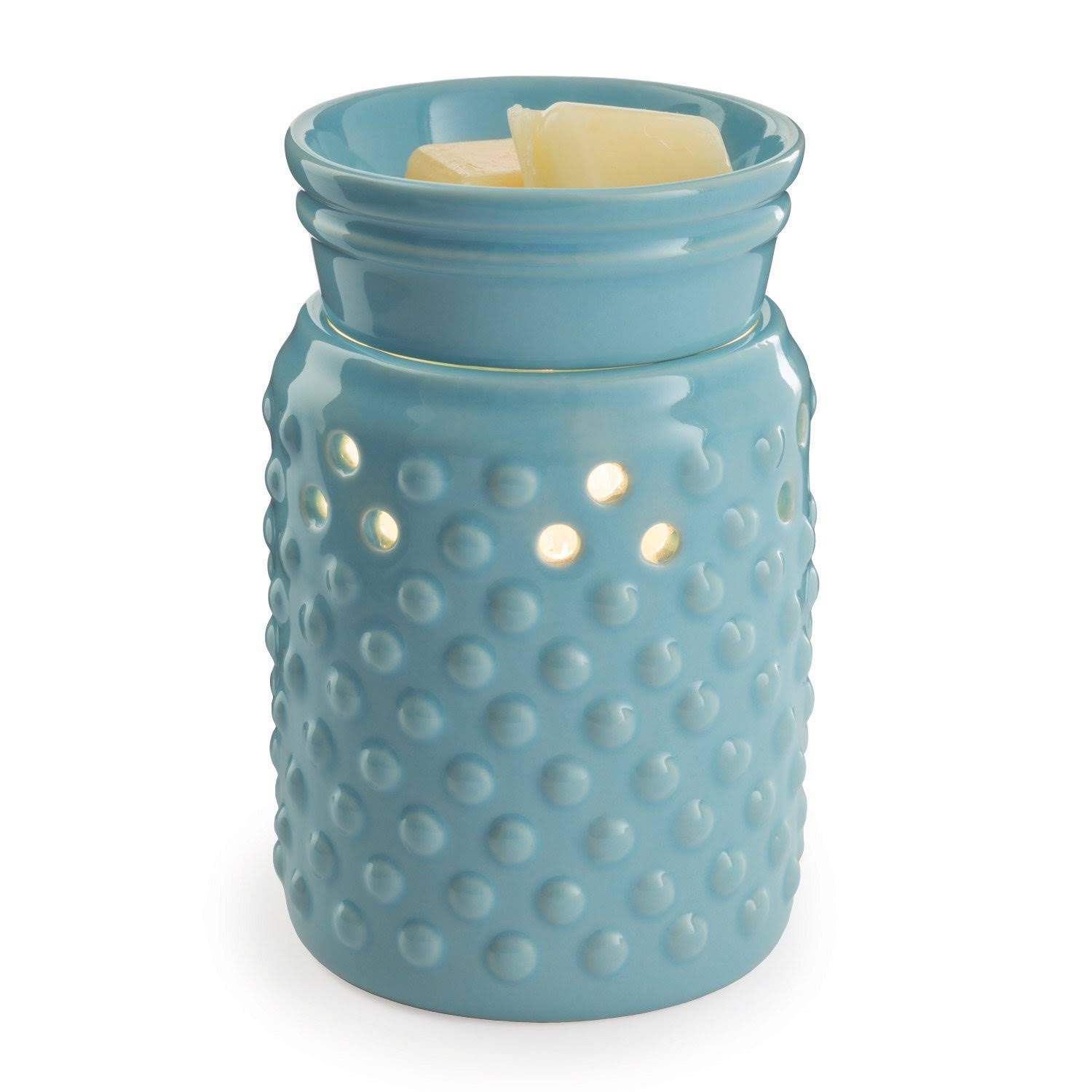 Candle Warmers Hobnail Illumination Wax Melt Warmer