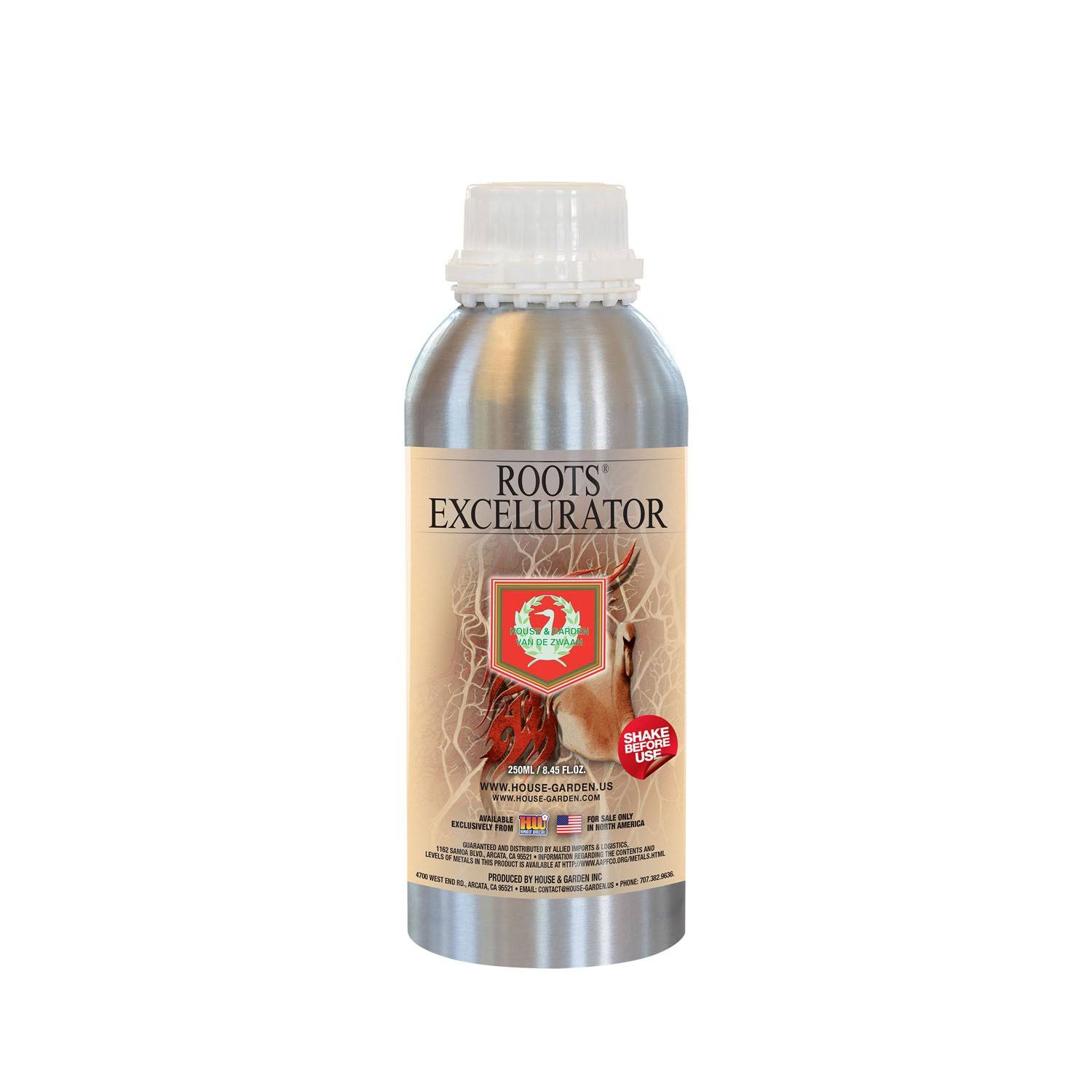 House & Garden Roots Excelurator - Silver, 250ml