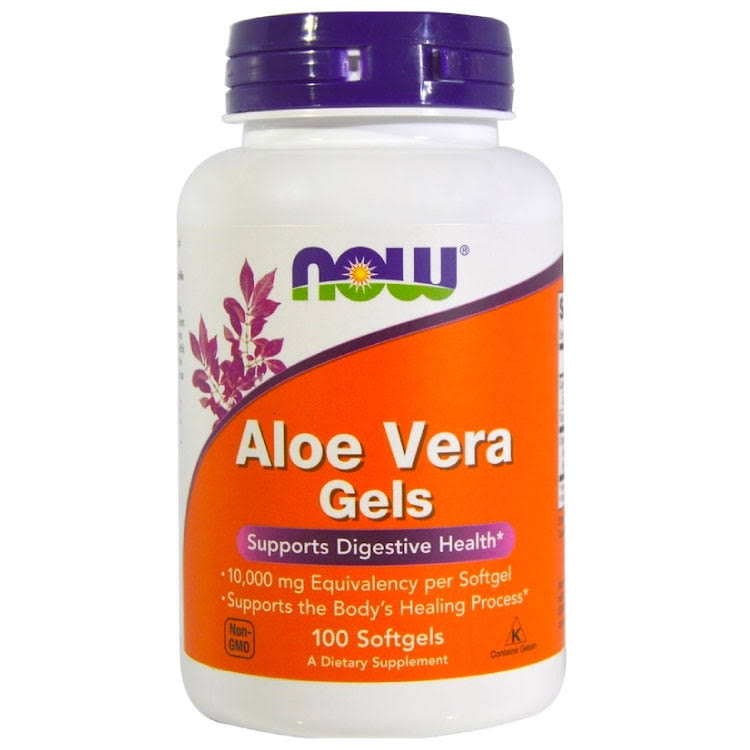 Now Foods Aloe Vera Gels - 100 Softgels