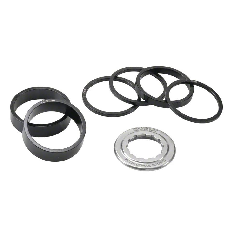 Surly Single-Speed Spacer Kit - Black, One Size