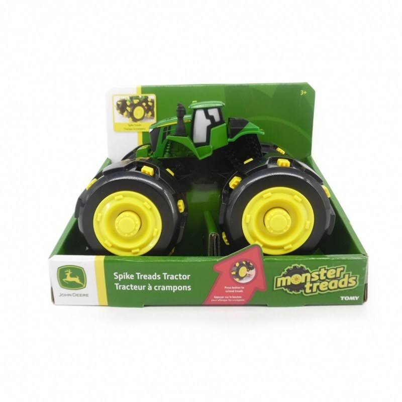 John Deere 46712 Monster Treads Tough Treadz Tractor Toy