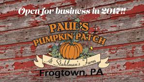 Pas Pumpkin Patch 2017 by A Night At The Patch Knox Area Information